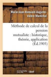 Methode de Calcul de la Pension Mutualiste