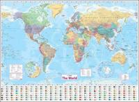 World Wall Paper Map