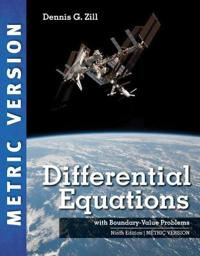 Differential equations with boundary-value problems, international metric e