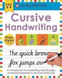 Wipe Clean Workbook Cursive Writing