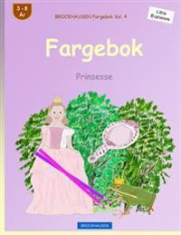 Brockhausen Fargebok Vol. 4 - Fargebok: Prinsesse