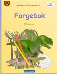 Brockhausen Fargebok Vol. 3 - Fargebok: Dinosaur