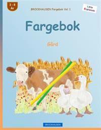 Brockhausen Fargebok Vol. 1 - Fargebok: Gard