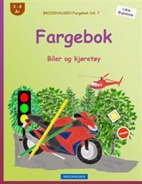Brockhausen Fargebok Vol. 7 - Fargebok: Biler Og Kjoretoy