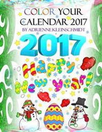 Color Your Calendar 2017!