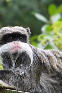 Emperor Tamarin (Sanguinus Imperator) Monkey Journal: 150 Page Lined Notebook/Diary