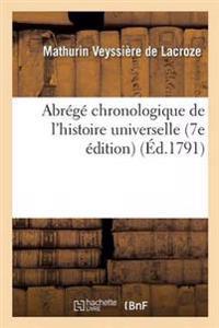 Abrege Chronologique de L'Histoire Universelle