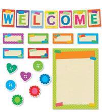 Tape It Up!: Welcome Bulletin Board
