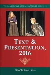 Text & Presentation 2016