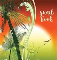 Guest Book (Hardback), Visitors Book, Guest Comments Book, Vacation Home Guest Book, Beach House Guest Book, Visitor Comments Book, House Guest Book
