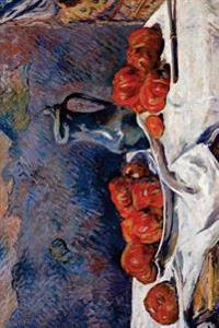 """Tomatoes and a Pewter Tankard on a Table"" by Paul Gauguin - 1883: Journal (Blan"