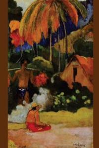 """""""The Moment of Truth II"""" by Paul Gauguin - 1893: Journal (Blank / Lined)"""