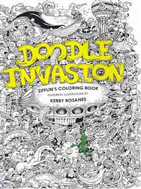 Doodle Invasion: Zifflin's Coloring Book