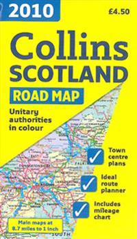 2010 Collins Map of Scotland