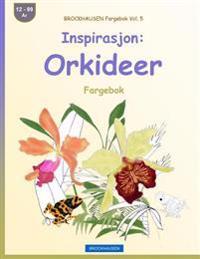 Brockhausen Fargebok Vol. 5 - Inspirasjon: Orkideer: Fargebok