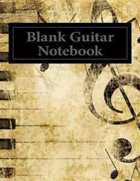 Blank Guitar Notebook