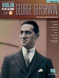 George Gershwin: Violin Play-Along Volume 63