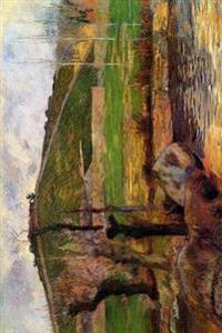 River Aven Below Mount Saint Marguerite by Paul Gauguin - 1888: Journal (Blank