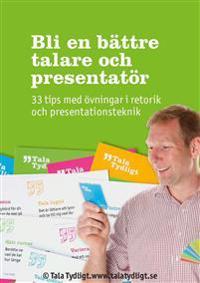 Bli en bättre talare och presentatör