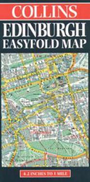 Edinburgh Easyfold Map