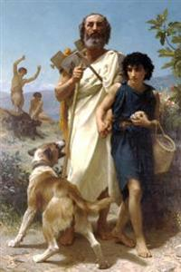 Homer and His Guide by William-Adolphe Bouguereau - 1874: Journal (Blank / Li