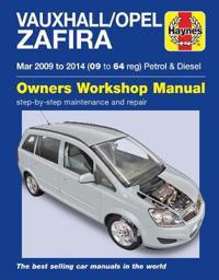 Vauxhall/Opel Zafira PetrolDiesel (Mar '09-'14) 09 To 64