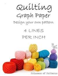 Quilt Graph Paper: 3 Lines Per Inch