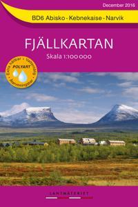 Bd6 Abisko Kebnekaise Narvik Fjallkartan Skala 1 100000