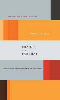 Citation and Precedent