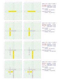 Fifty Scrabble Box Scores Games 3401-3450