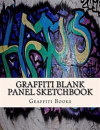 Graffiti Blank Panel Sketchbook