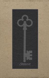 Shhhecret Password Book: Craft Paper Key Design, Password Organizer / Password Journal / Password Keeper, 120 Pages, 5 X 8