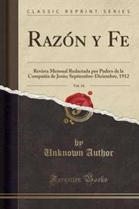 Razn y Fe, Vol. 34