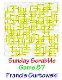 Sunday Scrabble Game 87