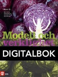 Modell och verklighet Kemi 2/B Lärobok Digital, an
