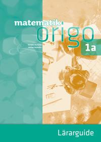 Matematik Origo 1a Lärarguide