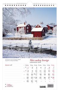 Vårt vackra Sverige almanacka 2018