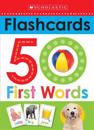 Flashcards: 50 First Words (Scholastic Early Learners)