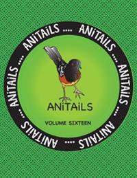 Anitails Volume Sixteen: Learn about the Spotted Towhee, Grizzly Bear, Chinese Crocodile Lizard, American Goldfinch, Black Racer, American Pika