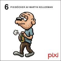 6 Pixiböcker av Martin Kellerman