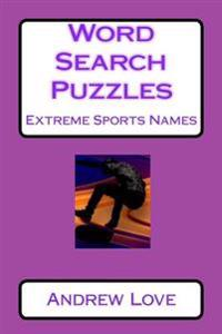 Word Search Puzzles Extreme Sports Names