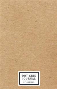 "Dot Grid Journal: 2017 Journal Notebook, Bullet Journal, 122 Pages 5.5""x8.5"" - Matte Hard Vintage Paper"
