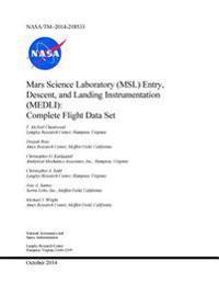 Mars Science Laboratory (Msl) Entry, Descent, and Landing Instrumentation (Medli): Complete Flight Data Set