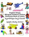 English-Telugu Bilingual Children's Picture Dictionary Book of Colors