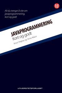 Javaprogrammering; kort og godt