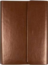 Bibel (fickformat brun med magnetflik)