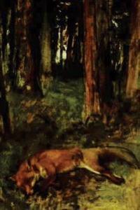 ''Dead Fox Lying in the Undergrowth'' by Edgar Degas - 1865: Journal (Blank / Li
