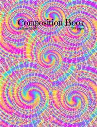 Tye Dye Composition Book