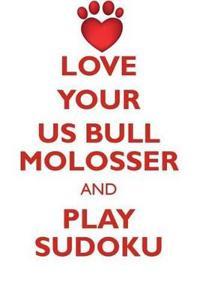 Love Your Us Bull Molosser and Play Sudoku American Bull Molosser Sudoku Level 1 of 15