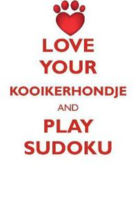 Love Your Kooikerhondje and Play Sudoku Nederlandse Kooikerhondje Sudoku Level 1 of 15